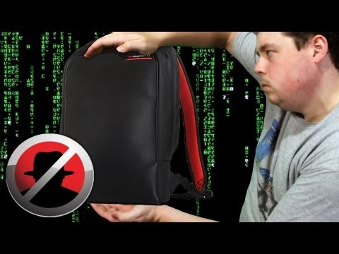 Reviewing dasKeyboard HackShield Backpack w/ Network, RFID blocking technology