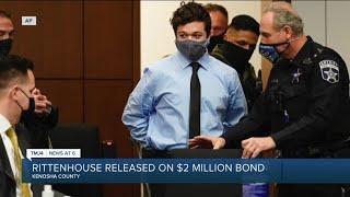 Kyle Rittenhouse Released From Custody On $2 Million Cash Bond