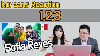 Sofia Reyes - 1, 2, 3 (ft. Jason Derulo & De La Ghetto) Reaction [Koreans Hoon & Cormie] / Hoontamin