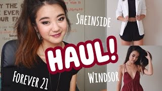 HAUL (+Update): Forever 21, Windsor, Sheinside! Thumbnail