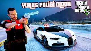 DÜNYANIN EN HIZLI POLİS ARABASIYLA YUNUS POLİSİ OLDUM! - GTA 5