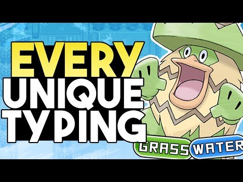 EVERY Pokemon With A Unique Type Combination