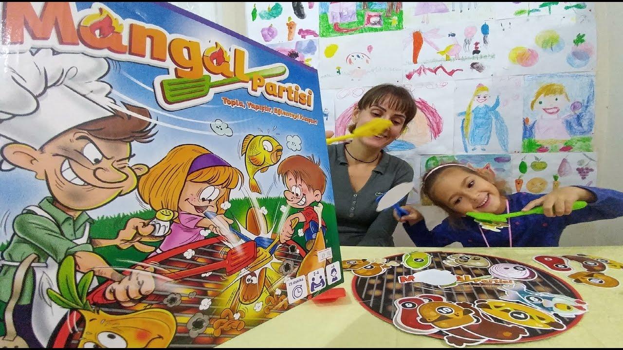Mangal Partisi oyuncak kutusu açtık, eğlenceli çocuk videosu, toys unboxing