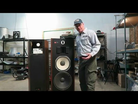 JBL L220 pt 1: Low Frequency Units