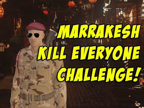 Marrakesh Kill Everyone Challenge! - Hitman 2016