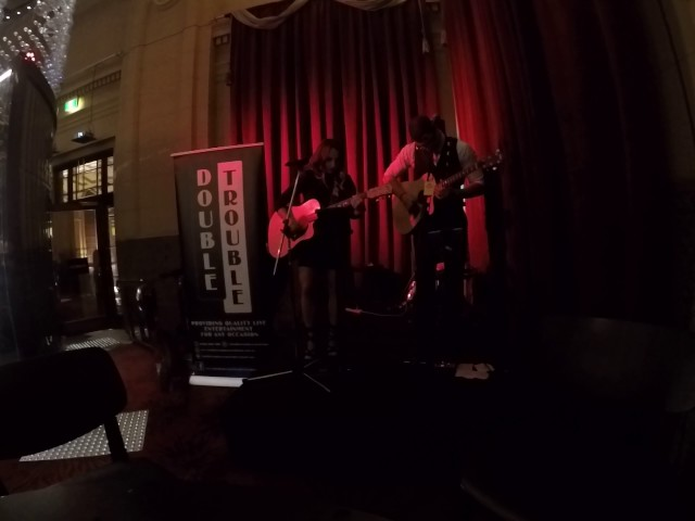 Sweet Child Of Mine Covered By Double Trouble Live! @ The Adelaide Casino Chandelier Bar