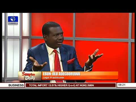 Operation Python Dance Is Illegal - Ebun-Olu Adegboruwa Pt 3 | Sunrise Daily |