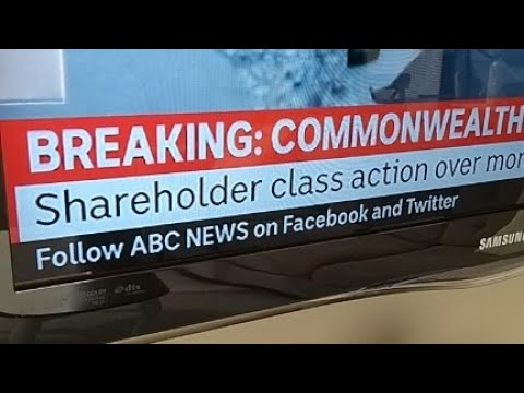 Breaking News: Commonwealth Bank shareholder class action launched!