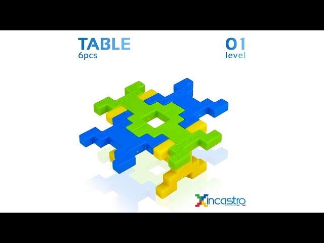 INCASTRO | Level 1 | Table