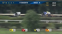 Gulfstream Park West November 24, 2019 Race 4