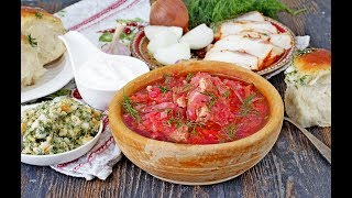 Борщ Украинский. #УкраинскийБорщ #Борщ Домашний ресторан®