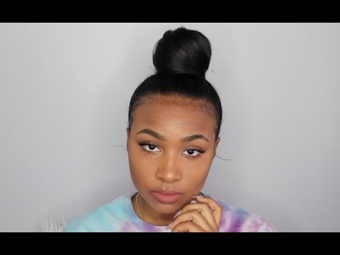 Top Knot Bun Tutorial Beginner Friendly Youtube