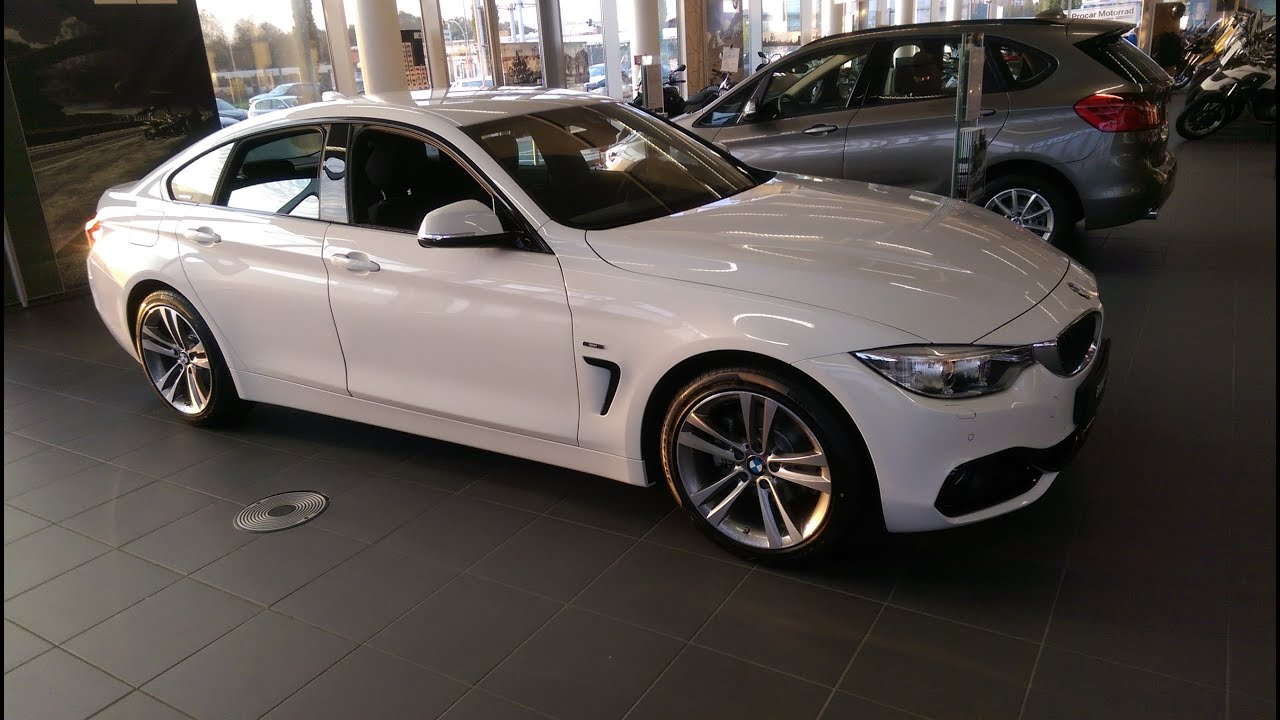 2015 bmw 420d gran coupe sport line f36 youtube for Bmw 4er gran coupe m paket