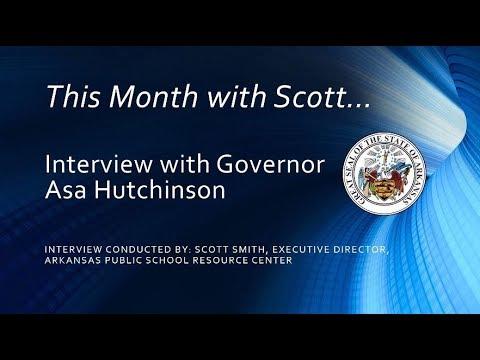 Governor Asa  Hutchinson Interview