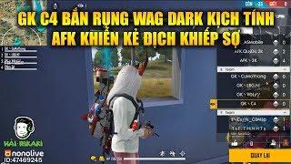 Free Fire | GK C4 Bắn Rụng WAG Dark Đầy Kịch Tính - AFK Khiến Mọi Đối Thủ Khiếp Sợ | Rikaki Gaming