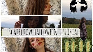 Scarecrow Halloween Tutorial Thumbnail