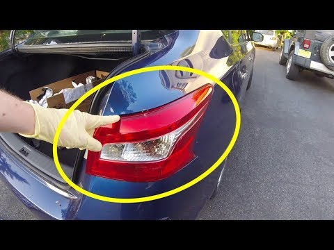 How To Replace Nissan Sentra Tail Light Assembly (2013-2019)