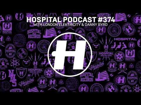 Hospital Records Podcast #374 With London Elektricity & Danny Byrd