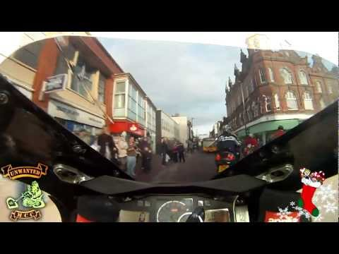 The Unwanted MotorCycle Club - Toy Run 2011 - Burton on Trent