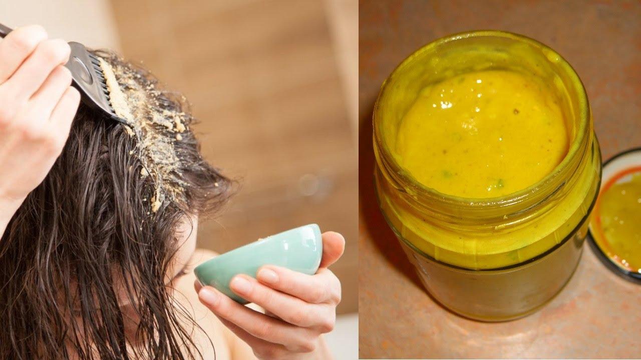 Простой Рецепт Мощной Маски для волос
