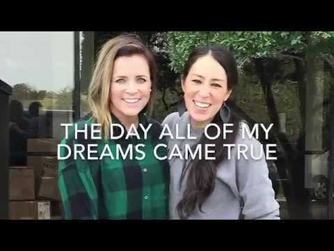 Meeting Joanna freaking Gaines
