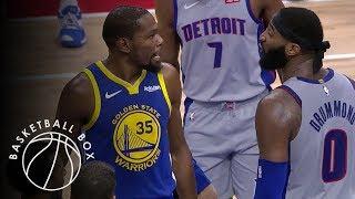 [NBA] Golden State Warriors vs Detroit Pistons, Full Game Highlights, December 1, 2018