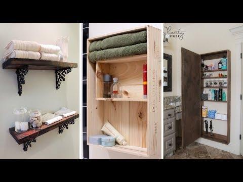 10 DIY Bathroom Storage Furniture ideas