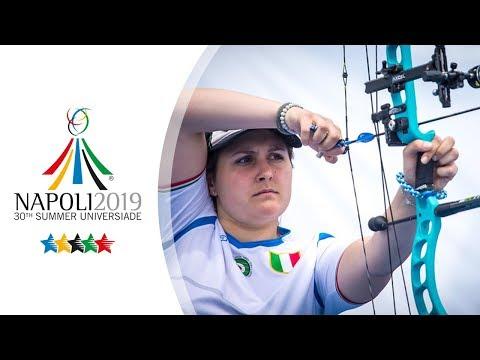 Live: Compound Finals   Napoli 2019 Universiade