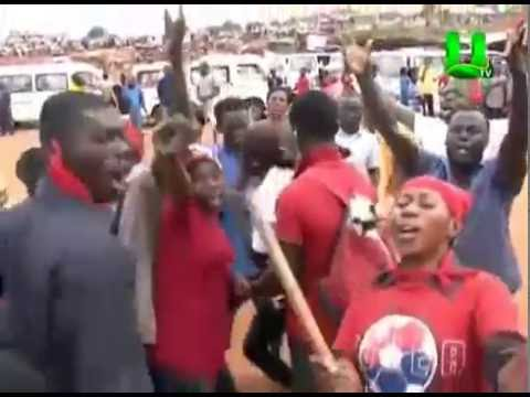 Sofoline drivers demonstrate over evacuation of land