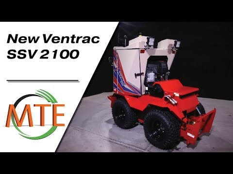 Introducing the New Ventrac SSV 2100 (Sidewalk Snow Vehicle)