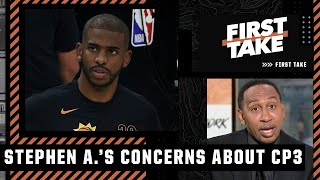 'Something is wrong with Chris Paul' - Stephen A. on CP3's Game 4 performance | First Take