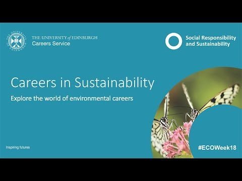 Careers in Sustainability 2018