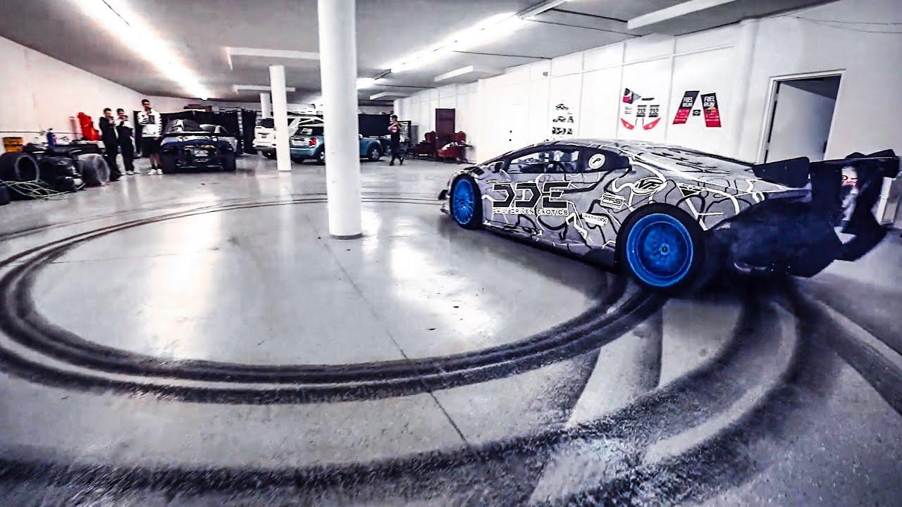 Drifting my supercharged lamborghini inside alex choi s for Garage n4 auto duppigheim
