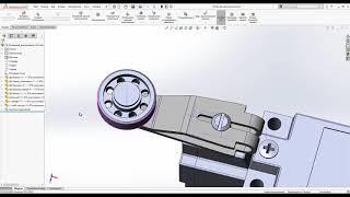 Разработка сборочного узла в SolidWorks с использованием деталей из Inventor и Creo