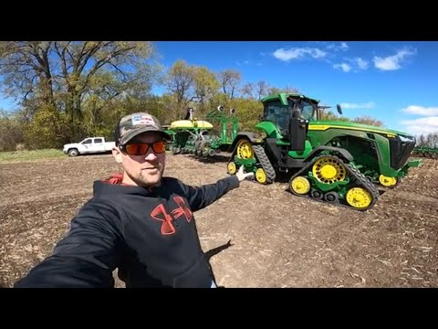 How To Drive New John Deere 8410RX Tractor And Corn Planter