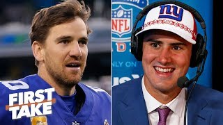 The Giants drafted Daniel Jones for their love of the Manning family - Todd McShay | First Take