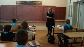 МОУ №78. Речевая разминка на уроке английского языка в 6-Б классе
