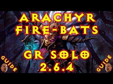 Diablo 3 S16 Arachyr Fire Bats Witch Doctor Build 2.6.4!