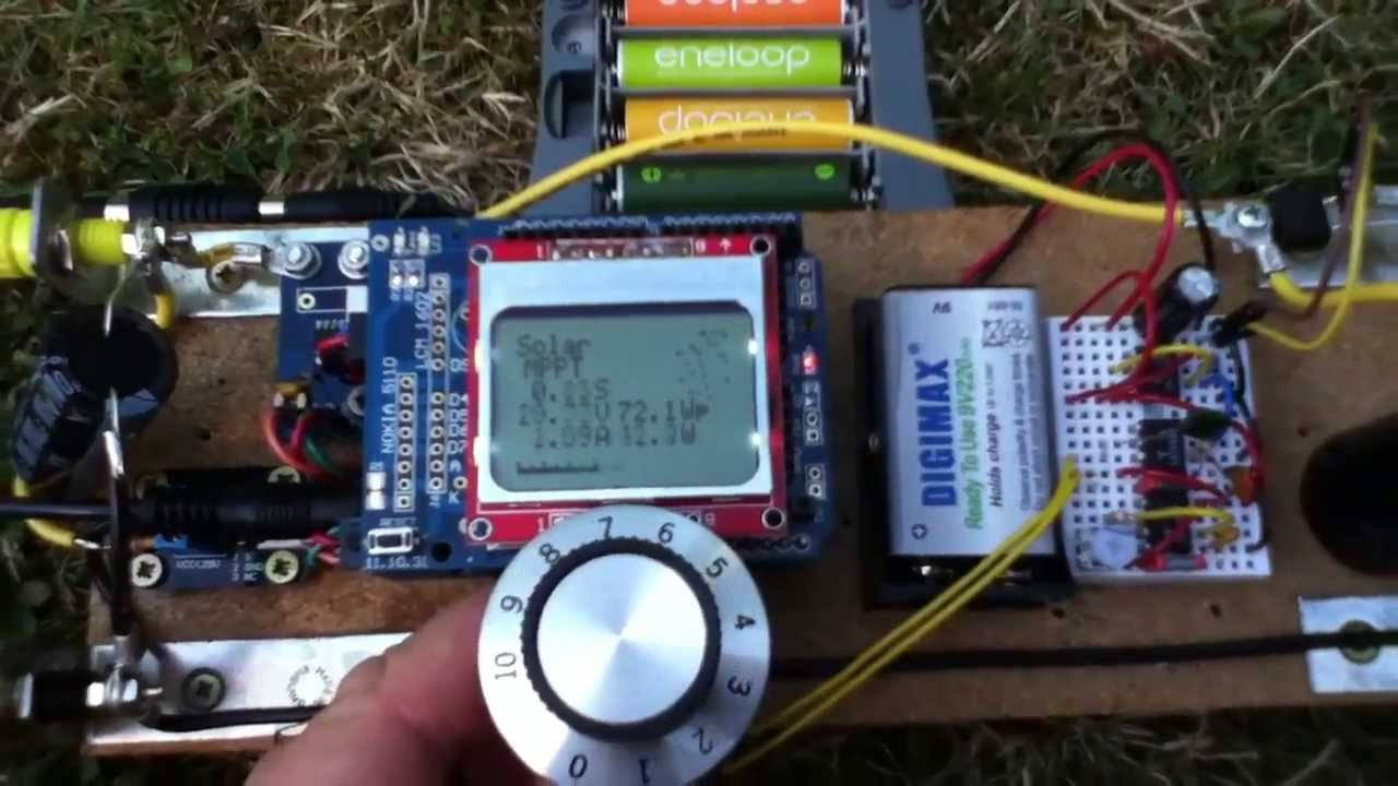 Arduino mppt solar charge controller stable current