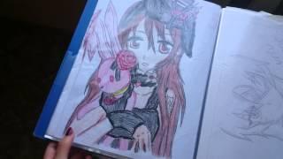 Мои рисунки аниме 2