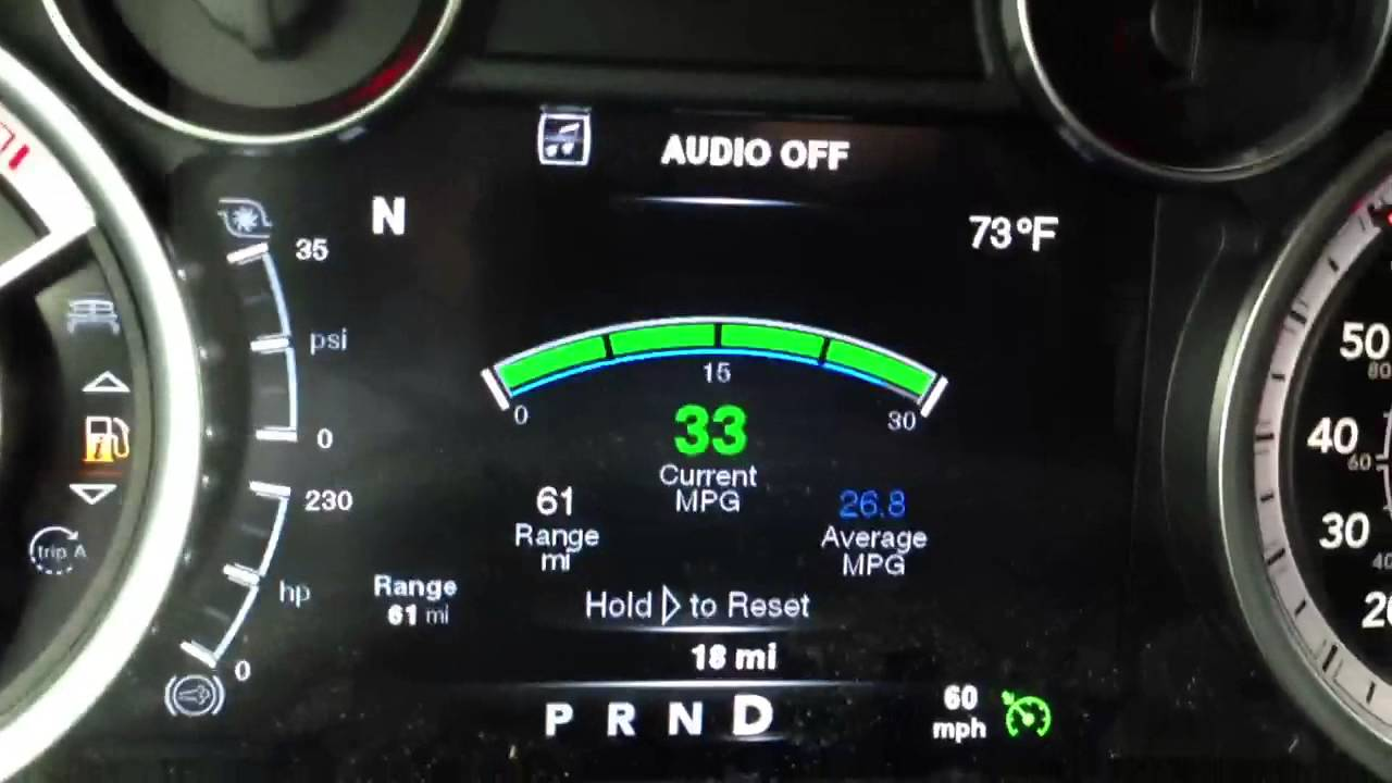 2013 Ram 2500 4x4 Cummins 60 Mph Mpg Test Youtube