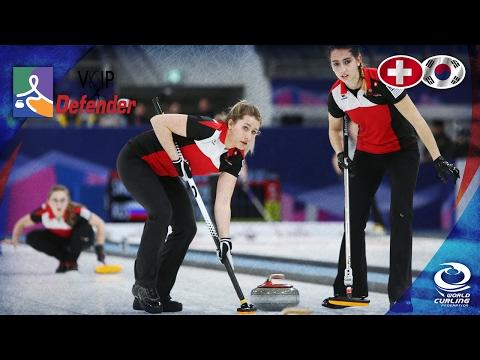 Switzerland v Korea (Women) - VoIP Defender World Junior Curling Championships 2017
