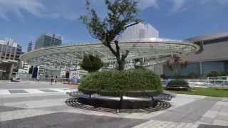 名古屋セントラルパークでテレビ塔、オアシス21をDIYステディカムで歩き...