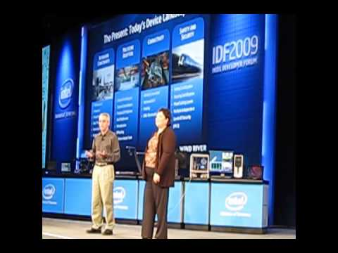 IDF   Intel's Renee James   Embedded Software Wind River Keynote