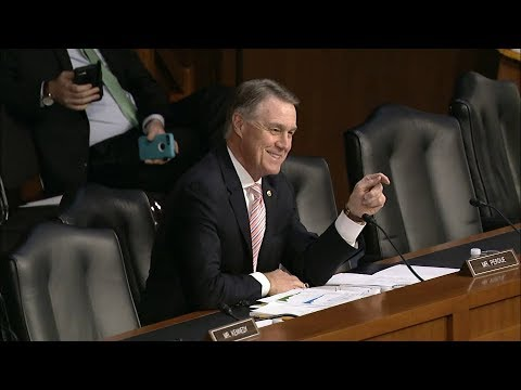Senator David Perdue Questions Governor Jerome Powell in Banking Committee