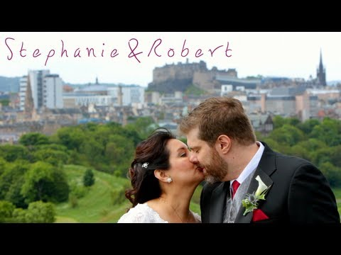 Edinburgh Castle wedding - Stephanie & Robert