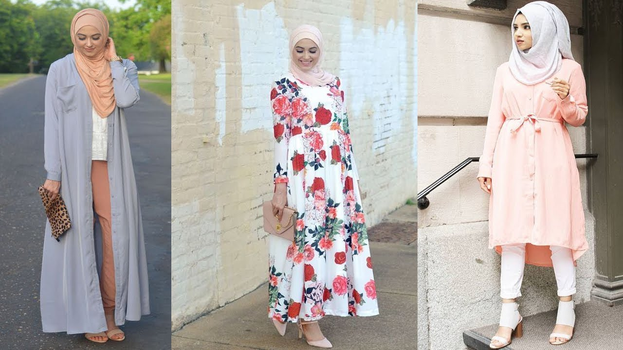 Modern Muslimah Fashion Outfit Ideas for Summer - YouTube