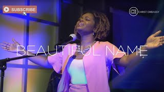 """Christ Embassy Worship - Moments of Worship with Jennel Divine singing """"Beautiful Name"""" by Hillsong"""