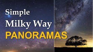 Simple Milky Way Panoramas