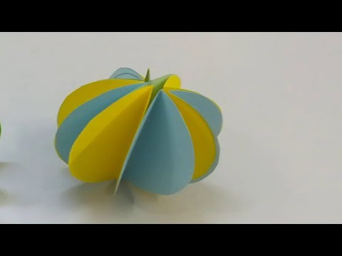 DIY | How to make a Colorful Paper Ball Eesy | Paper Ball making